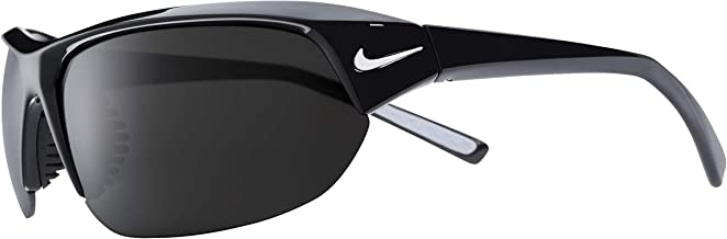 Nike Eyewear Men's Nike Skylon Ace EV1125-001 Rectangular Sunglasses, BLACK, 69 mm