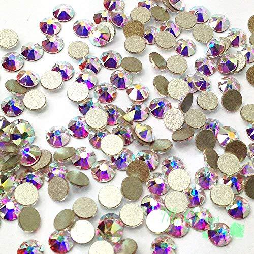 144 pcs Crystal AB (001 AB) Swarovski NEW 2088 Xirius 16ss Flat backs Rhinestones 4mm ss16