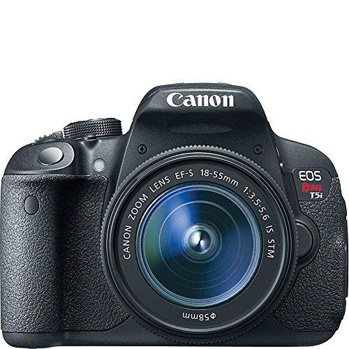 Canon EOS Rebel T5i Cámara Digital SLR con Lente STM de 18-55 mm