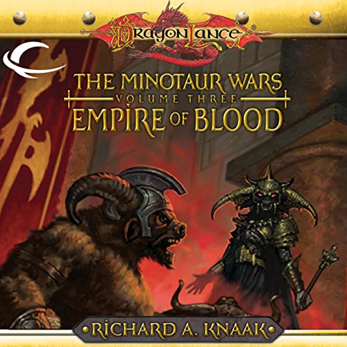 Empire of Blood audiobook cover art