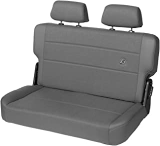 2007 Unlimited; Fit Factory Rear Seats Bestop 2928409 Charcoal Rear Seat Covers Jeep 2013-2018 Wrangler Unlimited