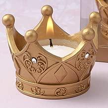 Royal Gold Crown Tea Light Candle (30)