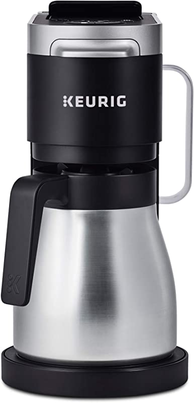 Keurig K Duo Plus Coffee Maker Single Serve And 12 Cup Drip Coffee Brewer Compatible With K Cup Pods And Ground Coffee Black