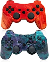 $25 » PS3 Wireless Controller Dual Vibration Gamepad for Playstation 3 Six-axis Gaming Joystick, up to 10m Remote Control, Support PC (Windows XP/7/8/10) with Charging Cable