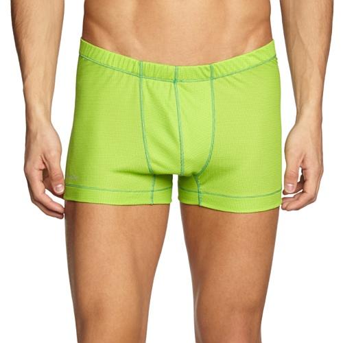 Odlo Cubic Boxer pour Homme XL Multicolore - Vert/Lime