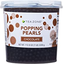 Tea Zone 7 lbs Chocolate Popping Pearls