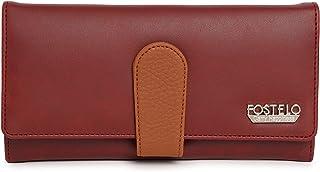 Fostelo Women's Ruby Two Fold Wallet (Maroon)