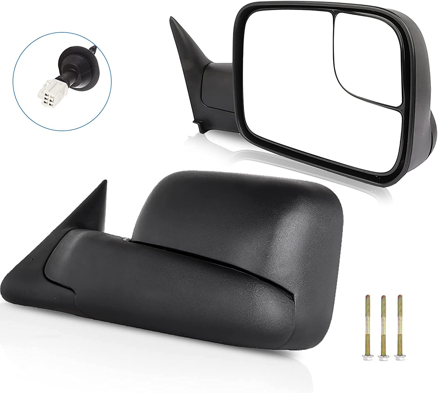 ECCPP Towing Mirror Replacement fit for 1998-2001 for Dodge for