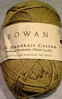New Brand 1 Skein Rowan DK Handknit Cotton Yarn 50gr 85m Color 209 Green Machine Washable