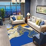 azul Alfombras De Habitacion Nueva alfombra grande del salón...