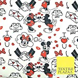 Mickey Minnie Mouse Love Letters Valentine Disney Druck