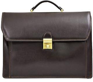 89a65af37a LIVAN® - L305 - Cartable en cuir - sac business - porte documents 3  soufflets
