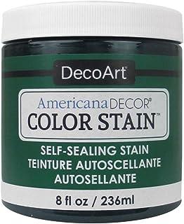 Deco Art Americana Decor Color Manchas 8oz-Dark Jade
