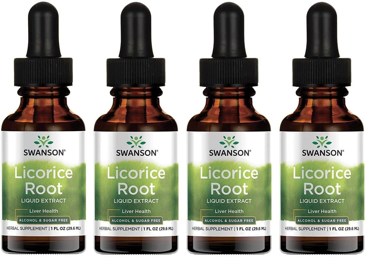 Swanson Albuquerque Mall Outlet sale feature Licorice Root Liquid Extract 1 Sugar-Free Alcohol and