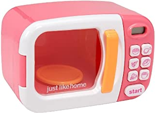 Just Like Home 電子レンジ with Play Food ピンク