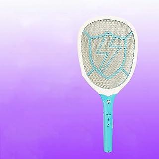 Electric fly swatter Electric Fly Swatter,fly Zapper Electric Indoor Racket Rechargeable Electric Mosquito Swatter,chargin...