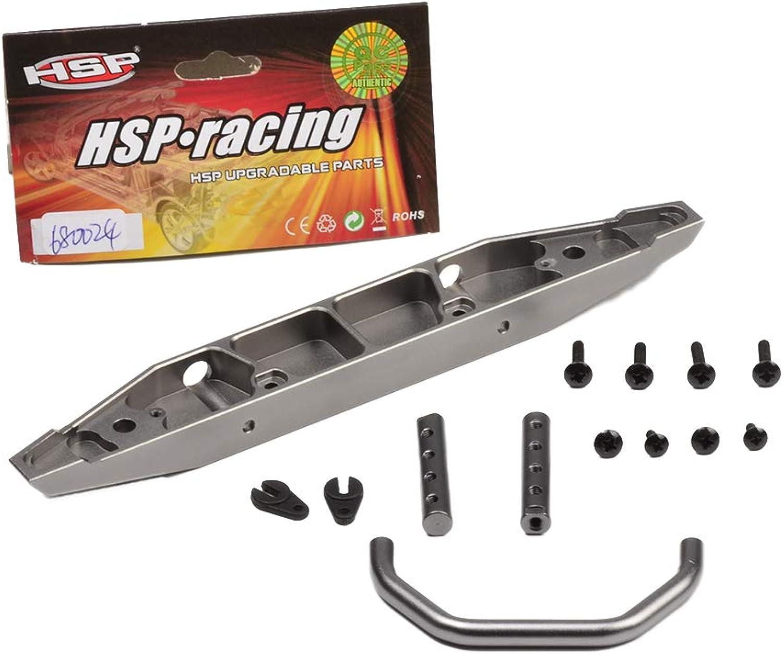 HSP RGT 136100 Upgrade Parts Aluminum Front Bumper 680024 RGT RC Crawler 136100 Rock Cruiser 1 10 Scale Crawler RGT Parts Accessories