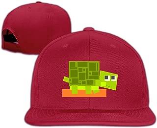 Turtle Vector Graphics Cute Adjustable Flat-along Sports Snapback Hats Cap