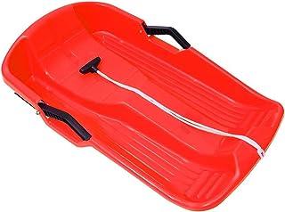 POLPqeD 3 Pezzi Slitta da Neve in Plastica da Slittino Cuscino da Sci per Bambini Piccoli Scivoli in Erba Sand Boarding in Plastica