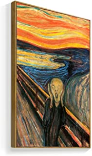 NWT Framed Canvas Wall Art for Living Room, Bedroom The Scream Canvas Prints for Home Decoration Ready to Hanging - 16