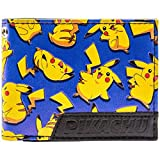 Pokemon Pikachu Mouse Felice elettrico Blu portafoglio