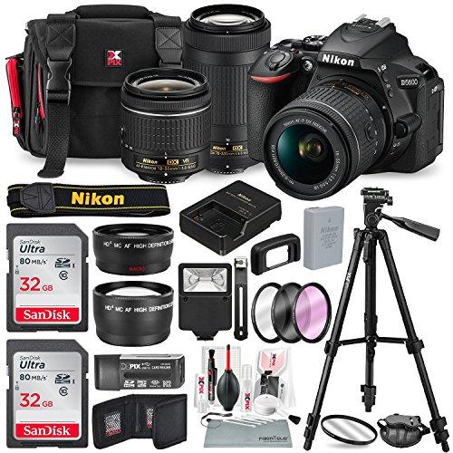 Nikon D5600 DSLR Camera with NIK...