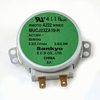 5304498736 Wall Oven Microwave Turntable Motor Genuine Original Equipment Manufacturer (OEM) Part
