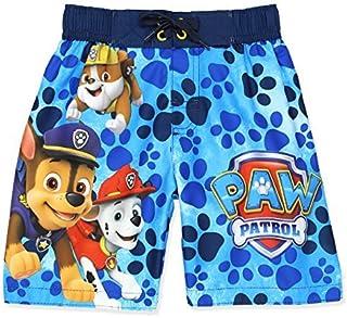 Paw Patrol Boys Swim Trunks Swimwear (7 Blue) [並行輸入品]