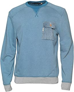 Duck and Cover Minter Sweat Blue