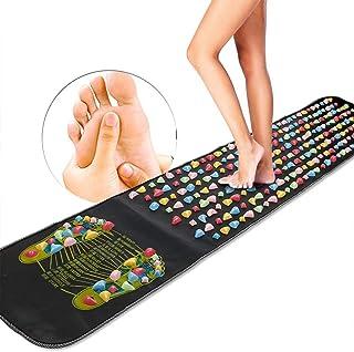 Amycute Esterilla de acupresión para pies, cojín conveniente del pie de Plastico piedra masaje Máquina de Masaje de Pies Suela Masajeado 180 * 35CM