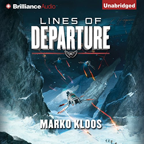 Lines of Departure audiobook cover art