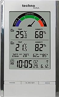 Technoline WS 9480 - Estación Meteorológica, Color Blanco