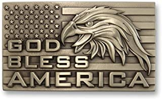 patriotic belt buckles made in usa