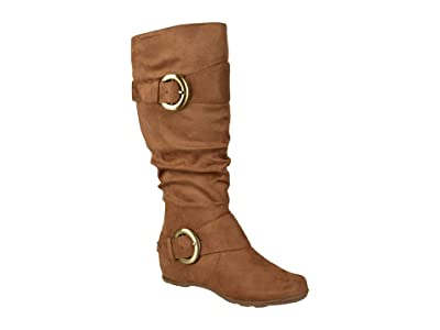 Journee Collection Jester-01 Boot Wide Calf (Camel) Women