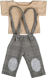 Yinuoday Pasgeboren Heren Stijl Fotografie Props Baby Baby Baby Outfits Vest Broek Set voor 0-3 Maanden Jongens