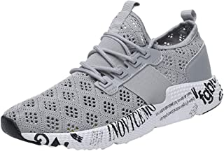 KESEELY Sport Shoes for Men - 2019 Running Shoes Mesh Breathable Fashion Drawstring Sneakers