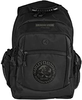 Harley-Davidson 3D Willie G Skull Classic Camo Backpack, Black BP3025S-CAMBLK