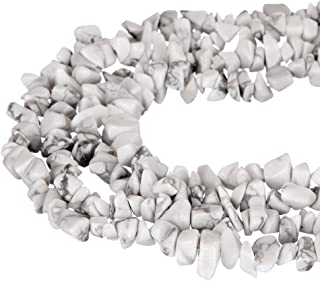 wanjin Howlite Stone crystal Chips Beads 5~8mm 34 Inches per strand For Jewelery Making