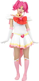 DAZCOS US Size Adult Super S Chibi USA Moon Fighting Cosplay Costume