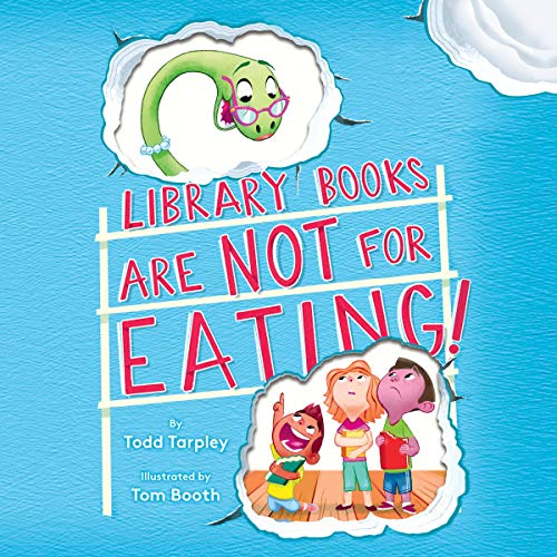 Library Books Are Not for Eating! Titelbild