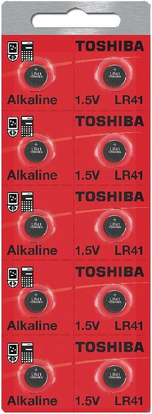 Toshiba LR41 Battery 3V 1000 Popular product Large-scale sale Batteries 1.5V Alkaline