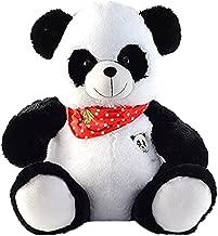 Panda Plush with Scarf, Multi Color