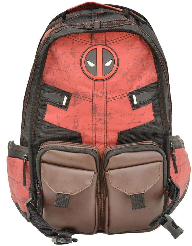 BACKPACK Deadpool Kinderrucksack Marvel Pack Batman Student Schulrucksack Für Kinder Schulbuchtasche 1