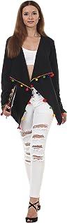 Lady Stark Women's Jacket (LSTOP5248-XXL, Black, XX-Large)