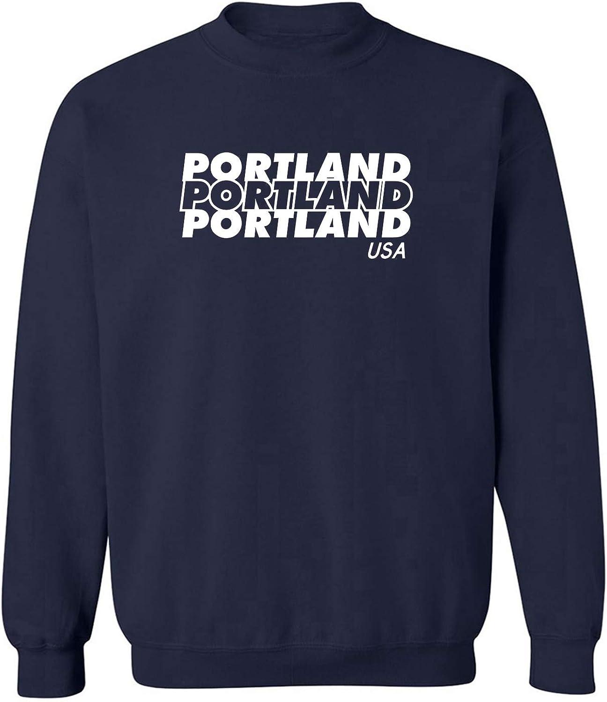 Portland USA Crewneck Sweatshirt