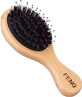 [Amazon限定ブランド] FENQ(フェンキュ) ヘアブラシ 豚毛 ヘッドスパブラシ ブラシ ヘアブラシ 頭皮 くし マッサージブラシ ギフト 女性 子供 誕生日 ツヤ 静電気 防止 マッサージ 絡まない