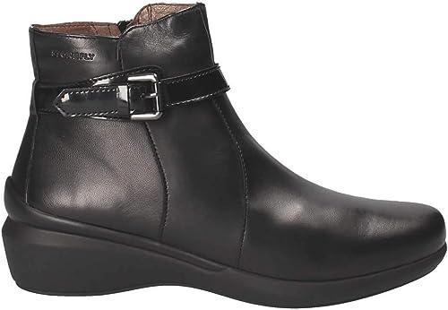 Stonefly Stiefelleten Stiefel Damen, Farbe Schwarz Marke, Modell Stiefelleten Stiefel Damen Licia II 4 Schwarz