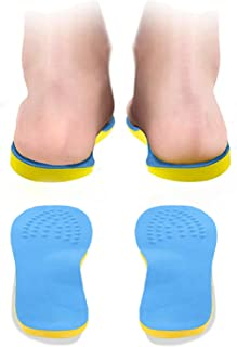 [AYITAYI] O脚矯正 インソール 中敷き シークレット 衝撃吸収 人間工学 アーチサポーター 足底筋膜炎 扁平足 ひざ・腰の負担を軽減 土踏まず O脚対策 疲れにくい 美脚 足裏ツボマッサージ 男性用 女性用 サイズ調整可能