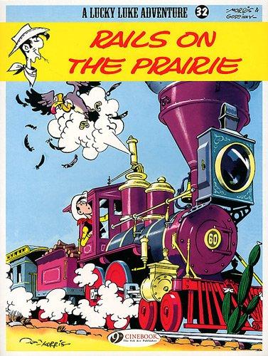 Lucky Luke - tome 32 Rails on the prairie (32)