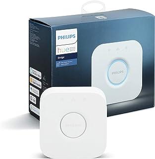 Philips Hue Bridge - Hub voor Philips Hue Verlichtingssysteem - Volledige Controle over tot 50 Lampen - Werkt met Alexa en...